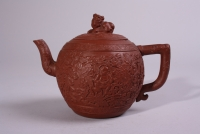 Nice red clay Yixing teapot
