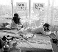 John Lennon & Yoko Ono - PEACE - Room 902 Hilton #6