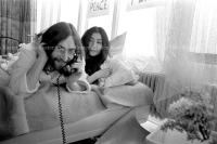 John Lennon & Yoko Ono - PEACE - Room 902 Hilton #16