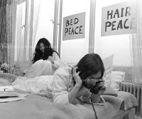 John Lennon & Yoko Ono - PEACE - Room 902 Hilton #12