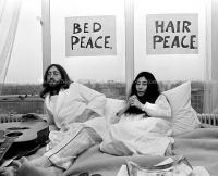 John Lennon & Yoko Ono - PEACE - Room 902 Hilton #11