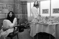 John Lennon & Yoko Ono - PEACE - Room 902 Hilton #13