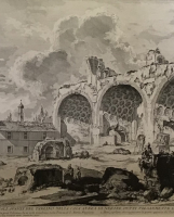 Piranesi: The Basilica of Constantine