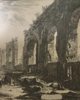 Piranesi: Aquaduct van Nero