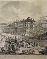 Piranesi: Veduta di Piazza di Spagna
