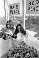 John Lennon & Yoko Ono - PEACE - Room 902 Hilton #3