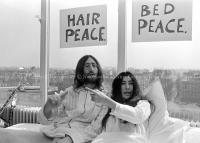 John Lennon & Yoko Ono - PEACE - Room 902 Hilton #2