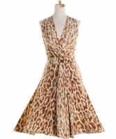 Christian Dior Leopard Print Silk Dress - Christian Dior