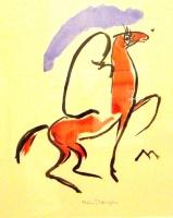 Arabic horse-rider