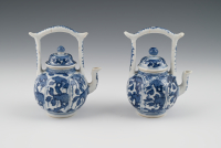 a pair of Chinese wine pots