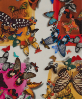 Christian Lacroix Color Party Butterfly Scarf - Christian Lacroix