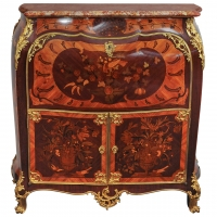 A famous rosewood and amaranth marquetry 'secrétaire à abattant'