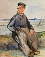 Fisherman at rest