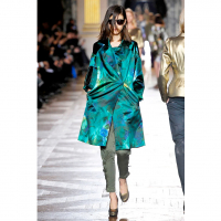 FW 2010 Dries van Noten Runway Silk Blend Coat - Dries van Noten
