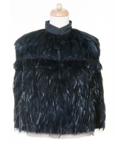 Prada Feather Cape - Prada