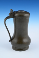 pewter measuring jug
