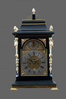 An English table clock John May London - John May