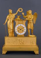 A French Charles X mantel clock Amor & Psyche Fabrégé à Montpellier