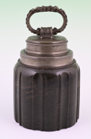 Sharpstone storage canister.