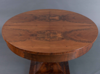 A Dutch flower mahogany Coulisse table with a maximum length of 4.75 meters, 1820
