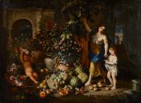 Abrahaham Brueghel (1631-1690) and Nicola Vaccaro (1640-1709)