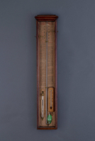 An English Fitzroy's barometer, around 1855