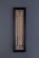Een Franse barometer met controleur, Le Bleu Trenel de la Goar, omstreeks 1880
