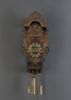 A rare Frisian 'stoel' clock, so-called girls or servant's clock, around 1770
