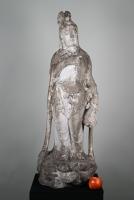 White marble Guanyin
