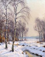 Winter Landschap - Johannes (Johan ) Meijer