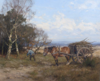 Houtsprokkelen op de Veluwe - Jan Holtrop