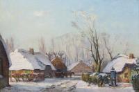 winter in Laren - David Schulman