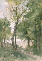 Páysage en Provence - Henri Joseph Harpignies