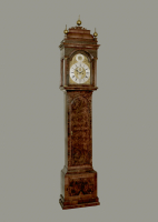 An English longcase clock, Rh Robinson London, 1730
