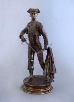 A bronze statue of Toreador Spada Matador Pierre Jules Mêne - Pierre Jules Mêne