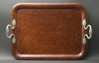 A Tray with Silveren Mounts