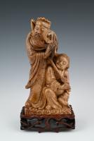 Chinees spekstenen sculpture