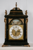 A Fine 18th Century Bracket Clock by Thomas Grinnard, No. 12, automaton, London ca. 1780
