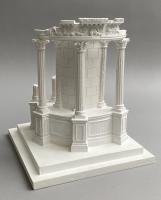 Scale model Temple of Vesta
