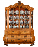 A Dutch 18th century Display Cabinet