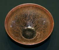 Hare's fur-glazed bowl Chinese Song ceramic