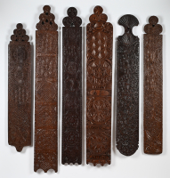 A collection Dutch Mangle Boards