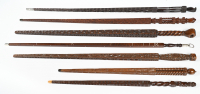 A collection of Dutch measuring sticks