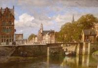 Rotterdam, Delfshaven with Pelgrimskerk, Holland
