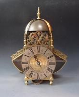 A fine late 17th century lantern clock by Joseph Windmills of London, circa 1680-1700.