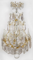 French Louis XV 'Lustre a Cage'