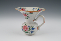 A Chinese porcelain Famille Rose spittoon