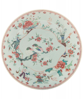 Famille Rose Dish -  Qianlong Period