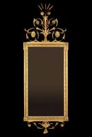A Dutch gilded Louis Seize mirror