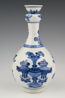A Chinese porcelain vase.